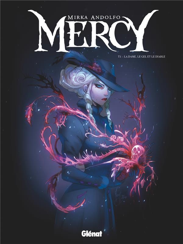 MERCY T.1  -  LA DAME, LE GEL ET LE DIABLE ANDOLFO, MIRKA GLENAT