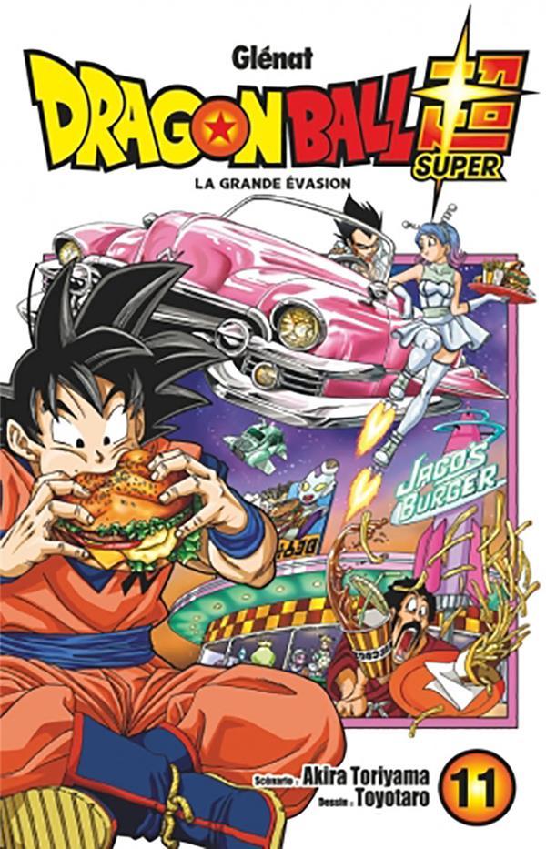 DRAGON BALL SUPER T.11  -  LA GRANDE EVASION TORIYAMA/TOYOTARO GLENAT