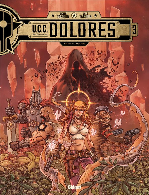 U.C.C. DOLORES T.3  -  CRISTAL ROUGE