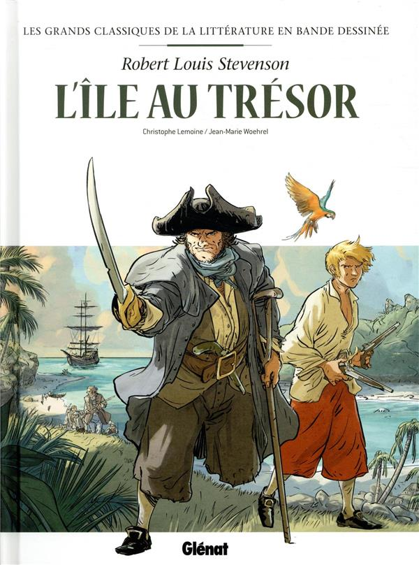 L'ILE AU TRESOR EN BD STEVENSON/LEMOINE GLENAT