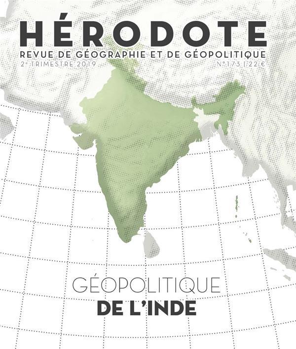 REVUE HERODOTE N.173  -  GEOPOLITIQUE DE L'INDE REVUE HERODOTE LA DECOUVERTE