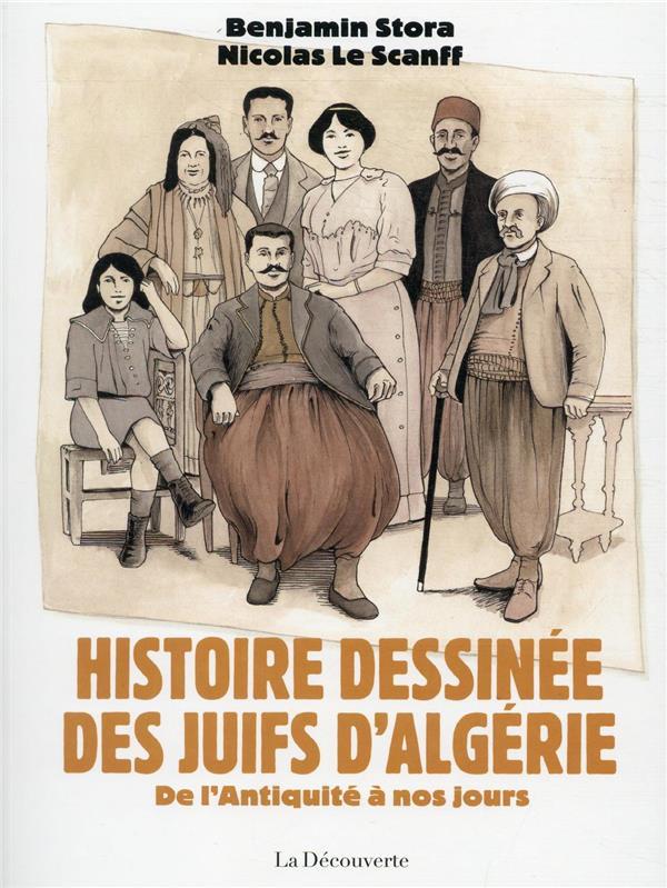 HISTOIRE DESSINEE DES JUIFS D'ALGERIE