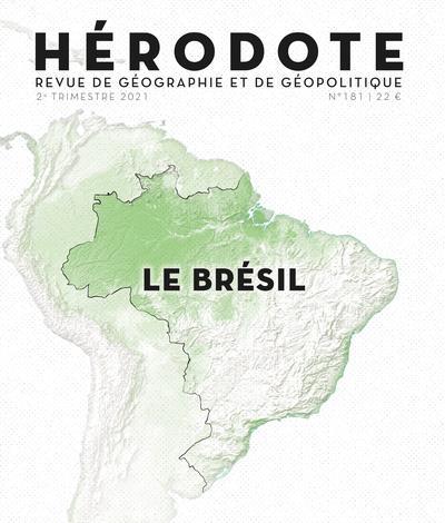 REVUE HERODOTE N.181  -  LE BRESIL