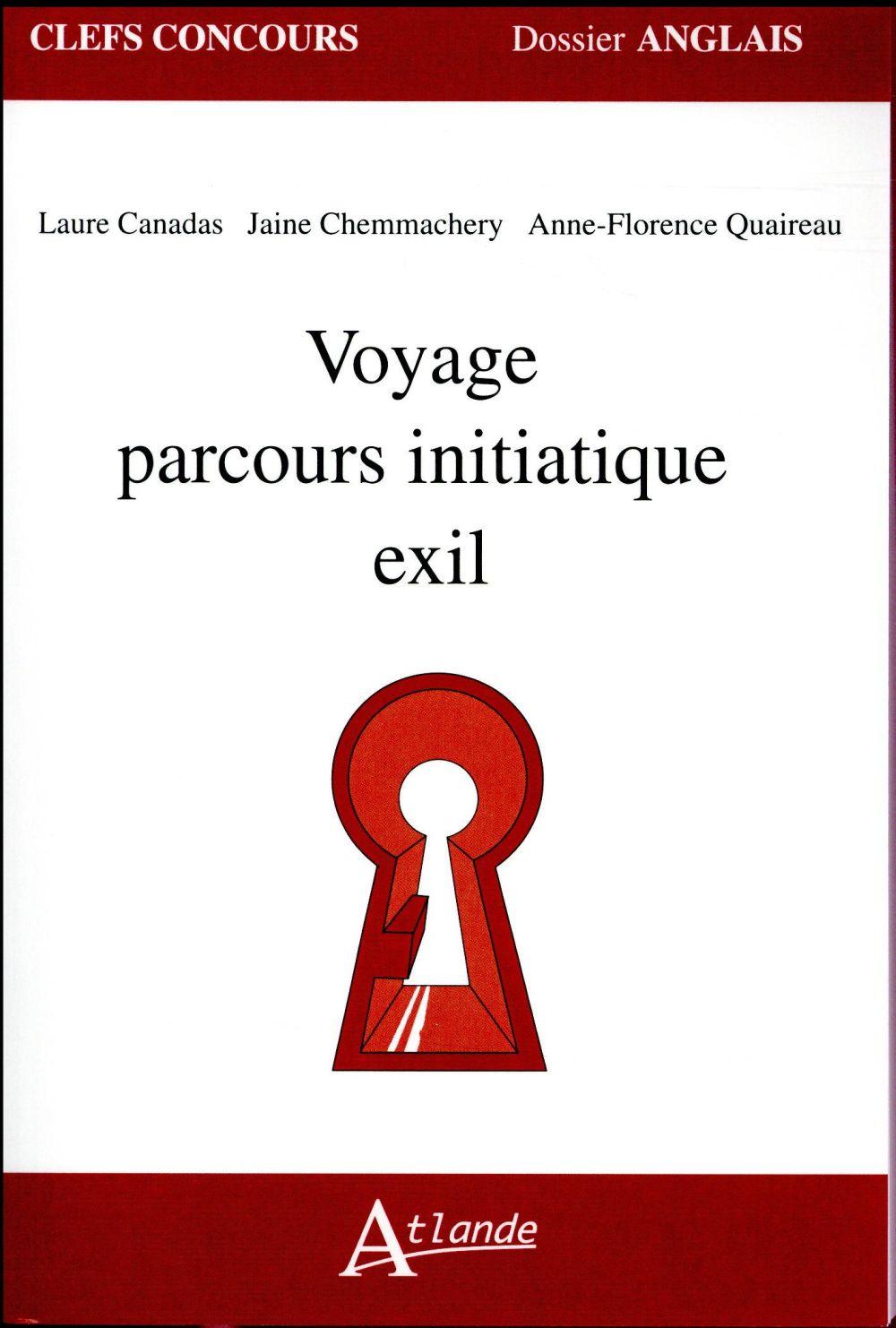 VOYAGE, PARCOURS INITIATIQUE, EXIL