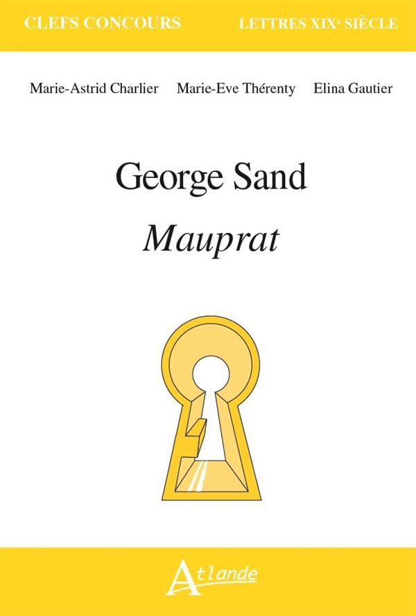 GEORGE SAND, MAUPRAT