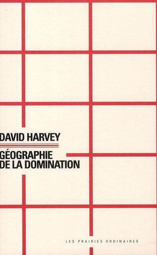 GEOGRAPHIE DE LA DOMINATION-