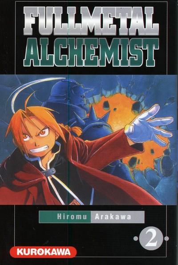 FULLMETAL ALCHEMIST - TOME 2 ARAKAWA HIROMU KUROKAWA