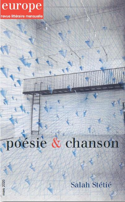 REVUE EUROPE N.1091  -  MARS 2020  -  POESIE et CHANSON