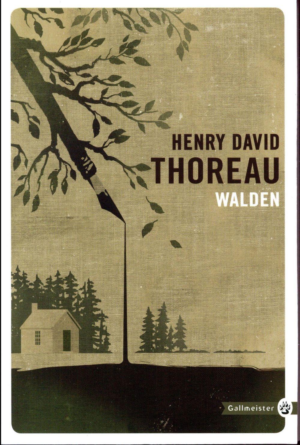 WALDEN THOREAU HENRY DAVID GALLMEISTER