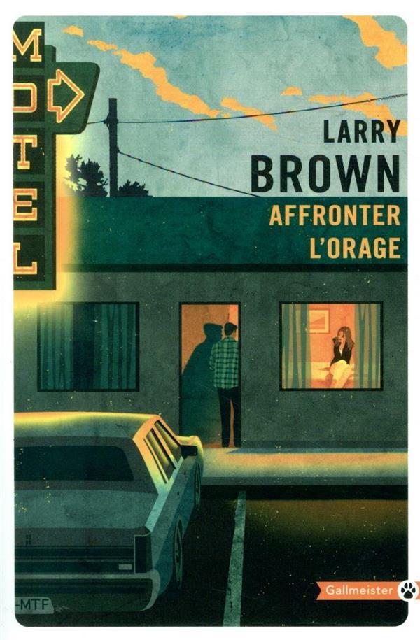 AFFRONTER L'ORAGE BROWN LARRY GALLMEISTER