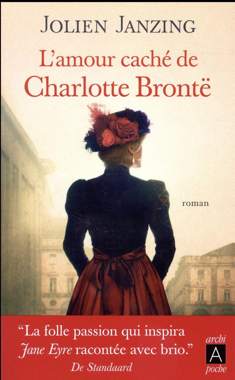 Janzing Jolien - L'AMOUR CACHE DE CHARLOTTE BRONTE