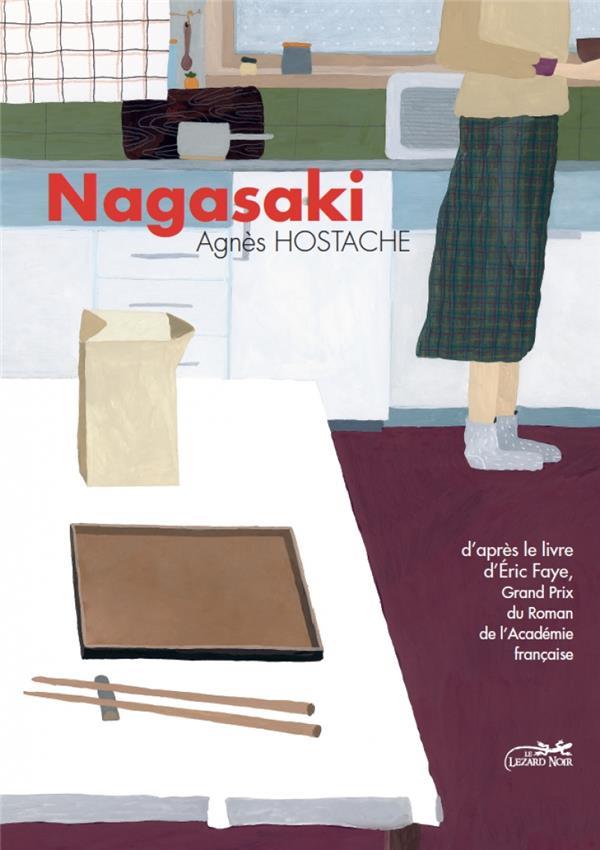 NAGASAKI FAYE/HOSTACHE LEZARD NOIR