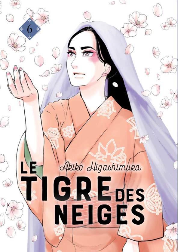 LE TIGRE DES NEIGES T.6 HIGASHIMURA, AKIKO LEZARD NOIR