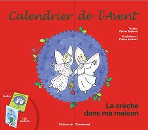 CALENDRIER DE L'AVENT - LA CRECHE DANS MA MAISON