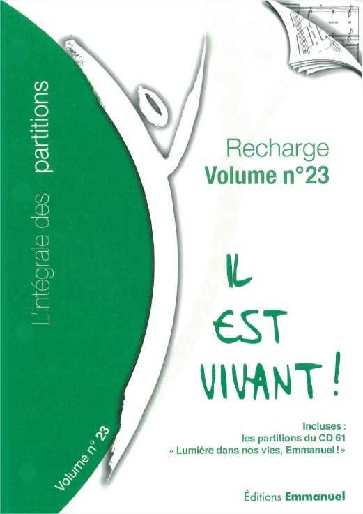 RECHARGE DE PARTITIONS N 23 POUR CLASSEUR