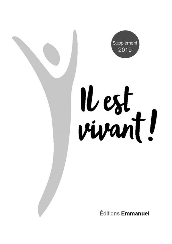 IL EST VIVANT !  -  SUPPLEMENT 2019