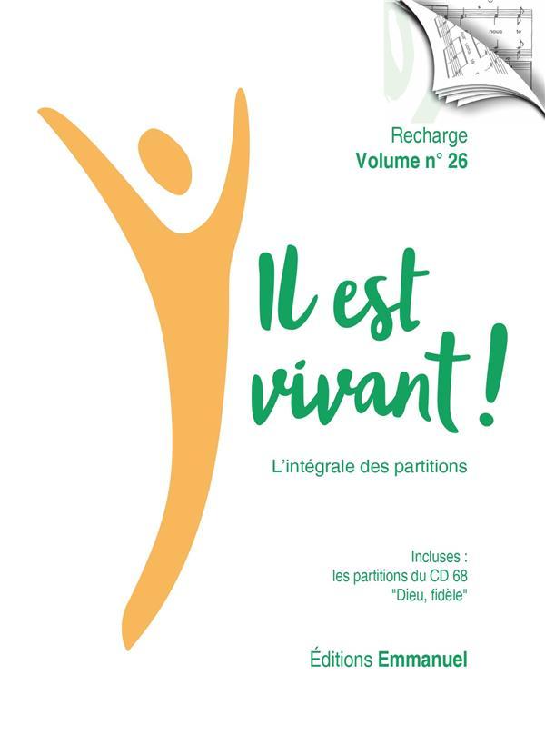 IL EST VIVANT ! T.26  -  RECHARGE DE PARTITIONS POUR CLASSEUR  -  L'INTEGRALE (EDITION 2021)