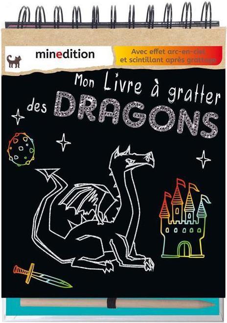 MON LIVRE A GRATTER DES DRAGONS