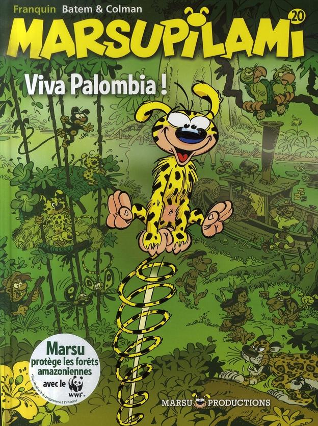MARSUPILAMI T.20  -  VIVA PALOMBIA ! BATEM/COLMAN MARSU