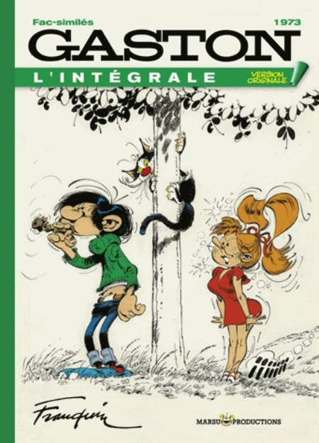 FRANQUIN/DUGOMIER - VERSION ORIGINALE - GASTON V.O. ANNEE 1973 F-S TOME 13