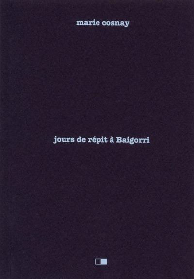 JOURS DE REPIT A BAIGORRI