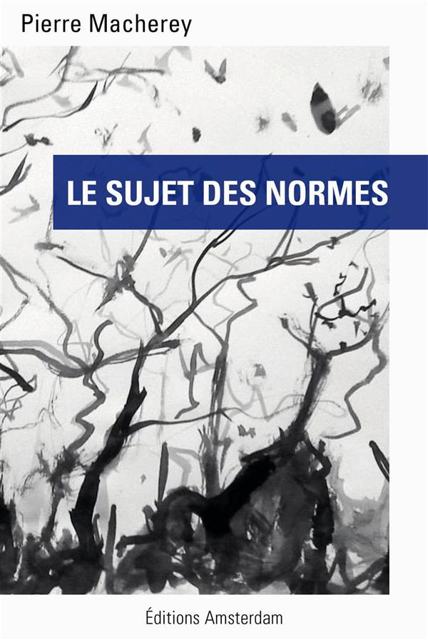 LE SUJET DES NORMES