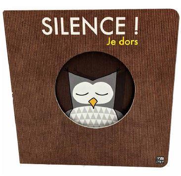 SILENCE ! JE DORS DIEZ SYLVAIN THOMAS JEUNESSE