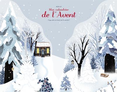 MON CALENDRIER DE L'AVENT (POP-UP) - A QUI SONT CES TRACES SUR LE CHEMIN?