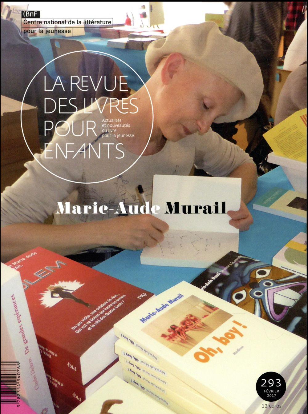 LA REVUE DES LIVRES POUR ENFANTS - MARIE-AUDE MURAIL