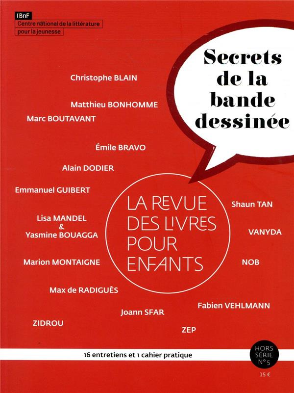 RLPE HS - LES SECRETS DE LA BANDE DESSINEE