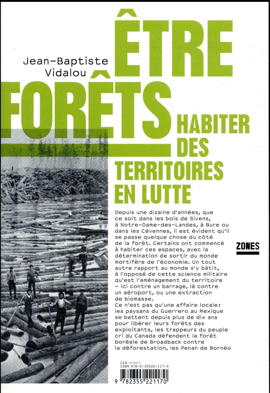 ETRE FORETS  -  HABITER DES TERRITOIRES EN LUTTE
