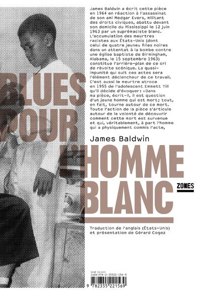 BLUES POUR L'HOMME BLANC BALDWIN JAMES ZONES