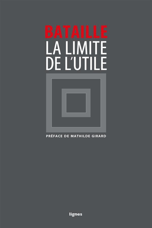 LIMITE DE L'UTILE (LA)
