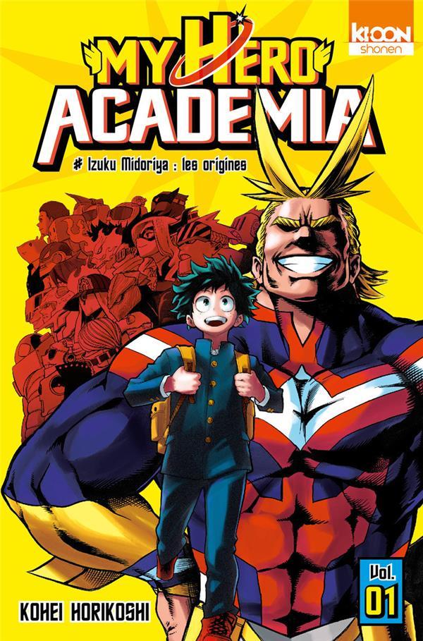 MY HERO ACADEMIA T01 Horikoshi Kohei Ki-oon