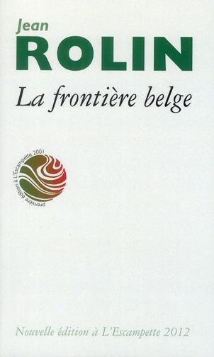 FRONTIERE BELGE (LA)POCHE