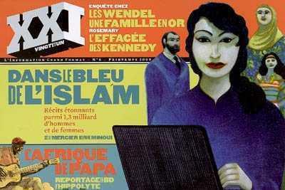 XXI N 6 DANS LE BLEU DE L'ISLAM