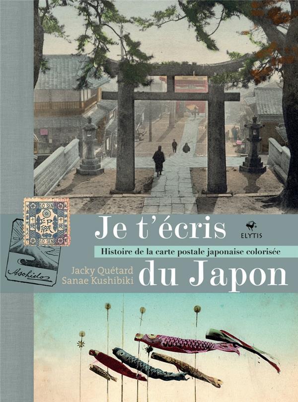 JE T-ECRIS DU JAPON - HISTOIRE