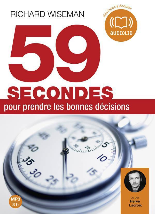 59 SECONDES POUR PRENDRE LES B WISEMAN RICHARD AUDIOLIB