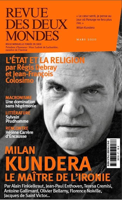 MILAN KUNDERA, LE MAITRE DES L'IRONIE