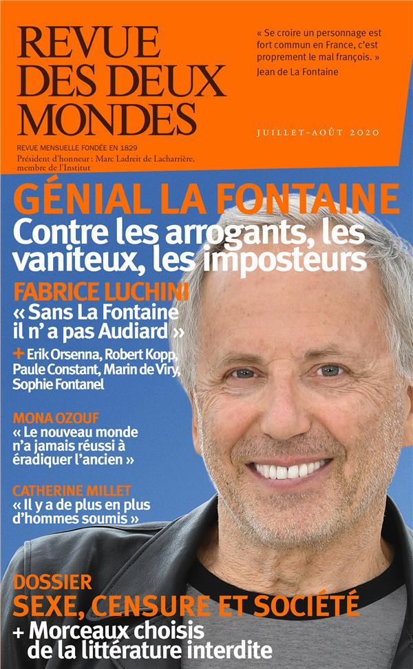 REVUE DES DEUX MONDES  -  LE SEXE AU TRIBUNAL (EDITION 2020) COLLECTIF NC