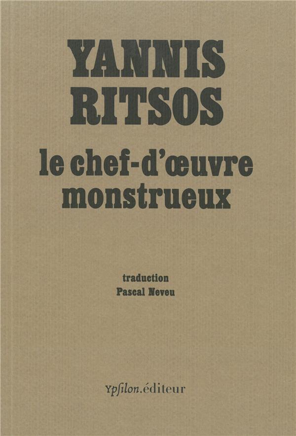 LE CHEF-D'OEUVRE MONSTRUEUX