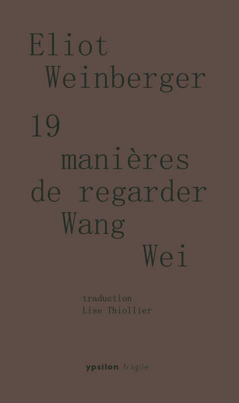 19 MANIERES DE REGARDER WANG WEI