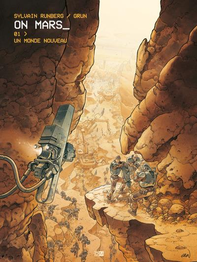 ON MARS - TOME 1 UN MONDE NOUVEAU - VOL1
