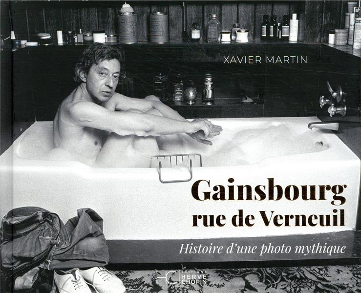 GAINSBOURG  -  RUE DE VERNEUIL