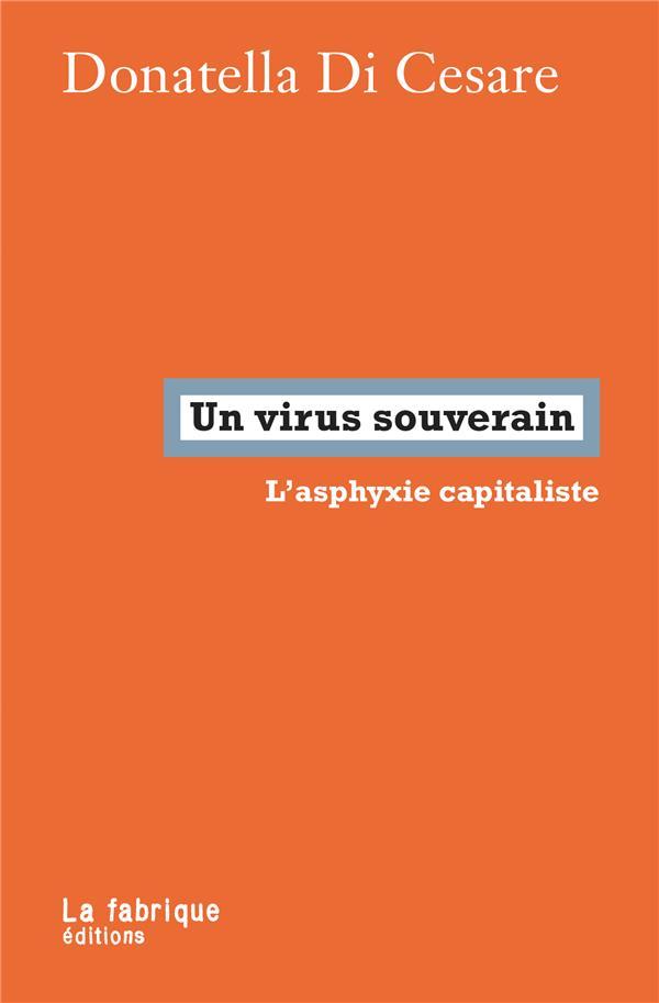 UN VIRUS SOUVERAIN  -  L'ASPHYXIE CAPITALISTE