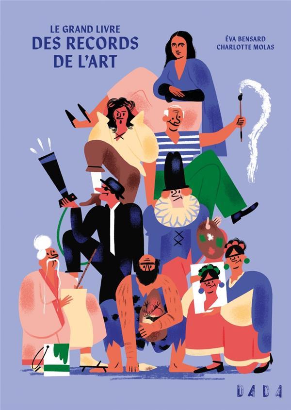LE GRAND LIVRE DES RECORDS DE L'ART