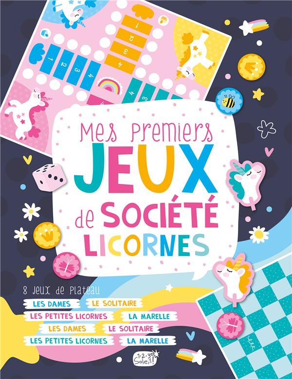 MES PREMIERS JEUX DE SOCIETE  -  LICORNES