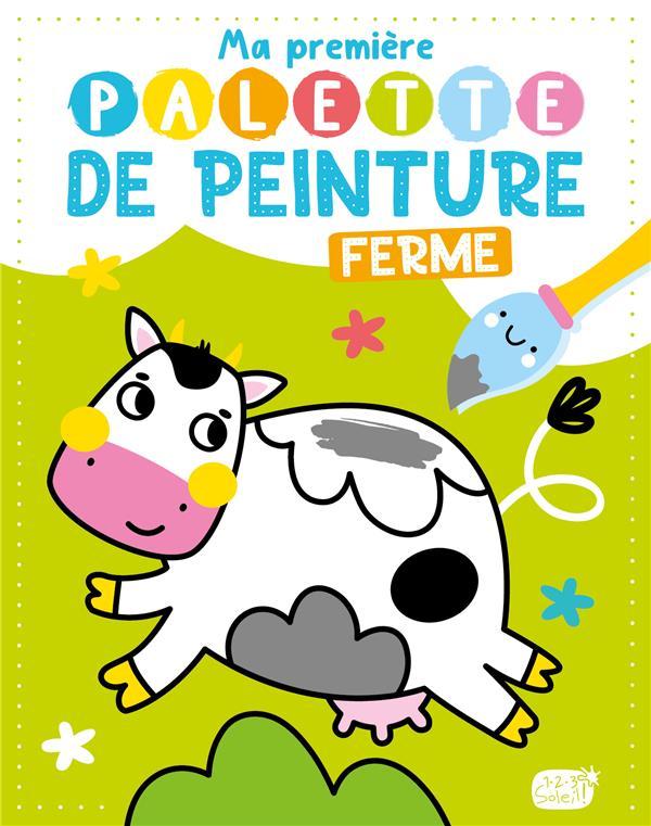 MA PREMIERE PALETTE DE PEINTURE  -  FERME