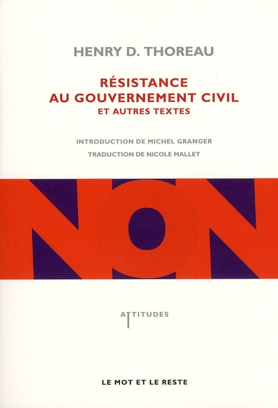 RESISTANCE AU GOUVERNEMENT CIVIL ET AUTRES TEXTES