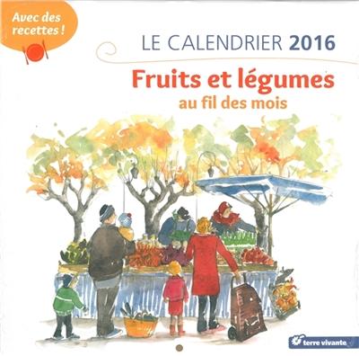 Le calendrier 2016